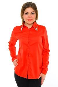 Рубашка красная с длинным рукавом М8860