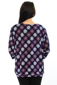 Блуза офисная нарядная М8420