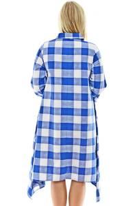 Платье-Туника длинное синее с длинными рукавами П0154