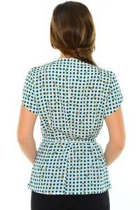 Блуза летняя нарядная М8864