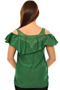 Блуза летняя с кружевом К9648