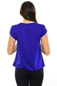 Блуза летняя офисная М8257