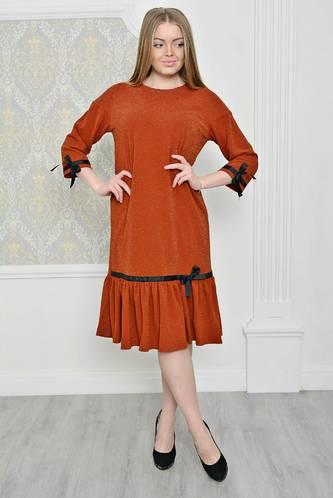 Платье короткое классическое однотонное Р2069
