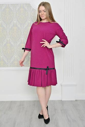 Платье короткое классическое однотонное Р2070