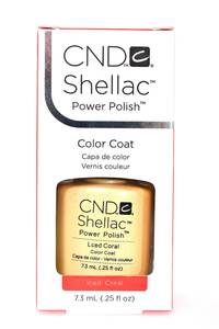 CND Shellac Iced Coral Р1119