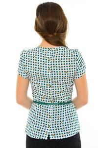 Блуза летняя нарядная М8867
