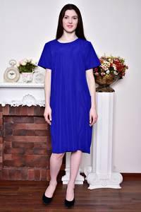 Платье длинное вечернее синее Р8746