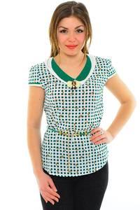 Блуза летняя нарядная М8869