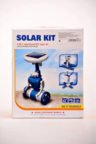 Игрушка-конструктор 6 in 1 Solar Robot Kit И0568