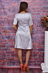 Платье короткое с принтом современное Т4085