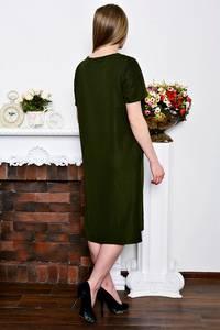 Платье длинное офисное нарядное Р7257