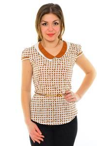 Блуза летняя нарядная М8870