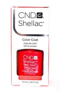CND Shellac Crimson Sash Р1126