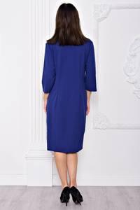 Платье длинное вечернее синее С9140