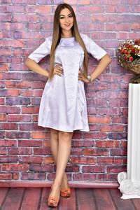 Платье короткое с принтом современное Т4086