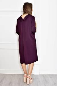 Платье короткое нарядное однотонное Т6579