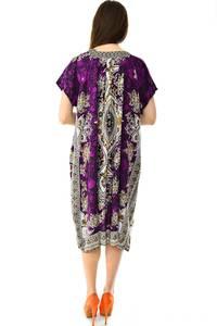 Платье длинное с коротким рукавом летнее Н7302