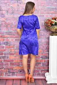 Платье короткое с принтом современное Т4087
