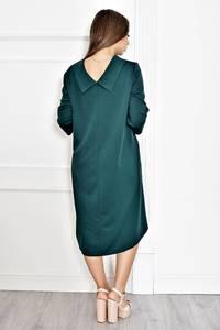 Платье короткое нарядное однотонное Т6580