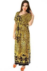 Платье длинное с коротким рукавом нарядное Н7303