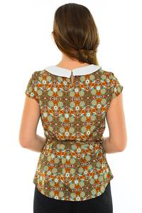 Блуза летняя праздничная М8875