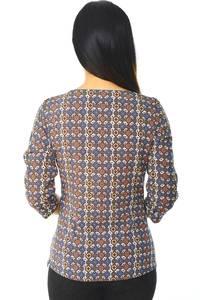 Блуза офисная нарядная Н5886