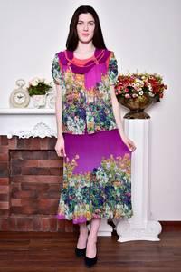 Платье длинное вечернее нарядное Р8755