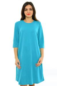 Платье длинное голубое вечернее М8269