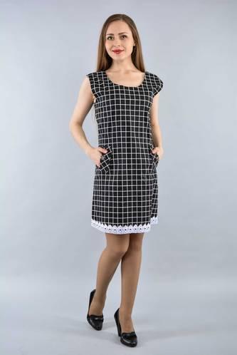 Платье короткое летнее офисное И3293