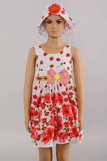 Платье с панамкой Г4653