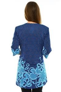 Блуза летняя праздничная М6778