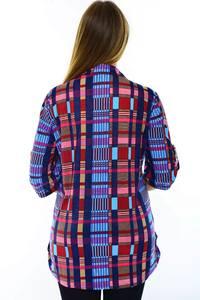 Блуза летняя офисная Н3253