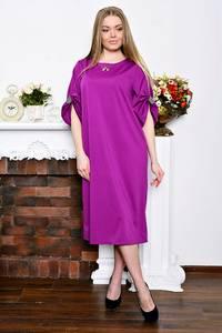Платье длинное деловое вечернее Р7265