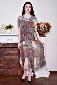 Платье длинное вечернее нарядное Р8757