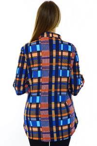 Блуза летняя офисная Н3254
