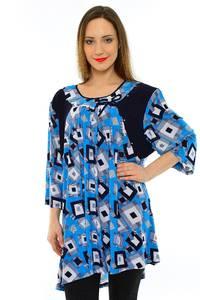 Блуза летняя праздничная М6781