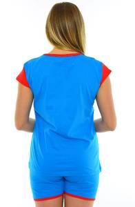 Костюм синий нарядный модный М9127