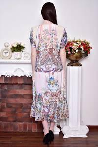 Платье длинное вечернее нарядное Р8759