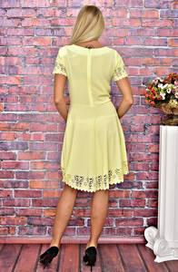 Платье короткое коктейльное современное Т5857