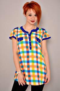 Блуза летняя праздничная К2954