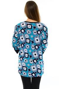 Блуза летняя праздничная М6782