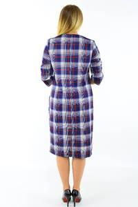 Платье длинное деловое зимнее М3733