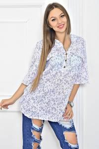 Блуза офисная нарядная Т5630