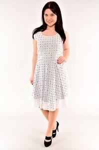 Платье длинное белое летнее И1537
