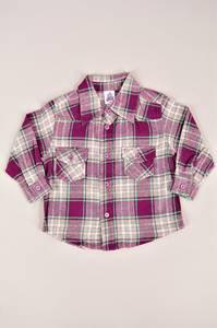 Рубашка 13011(опт)-феолет.