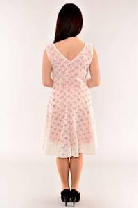 Платье длинное белое летнее И1538