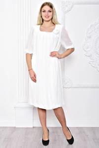 Платье длинное белое вечернее С8400