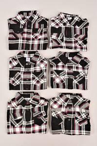 Рубашка 13011(опт)-чер.