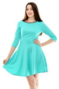 Платье короткое классическое нарядное Н9230