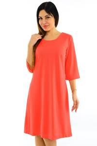 Платье короткое вечернее красное М7505